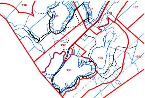 Zones visées : 134, 131, 132, 135, 136